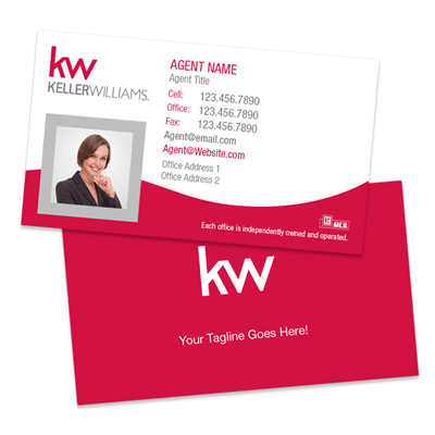 KW Photo Business Cards BC6R