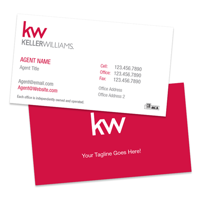 KW Business Cards BC3W
