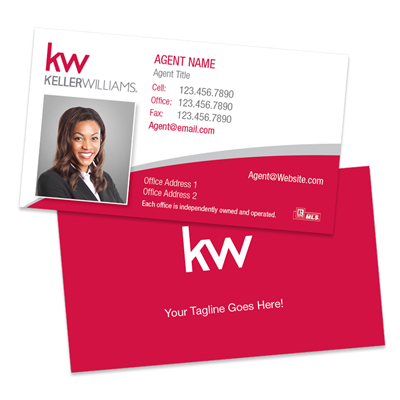 KW Photo Business Cards BC5R